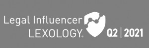 Lexology Legal Influencers Q2 2021 badge cropped small